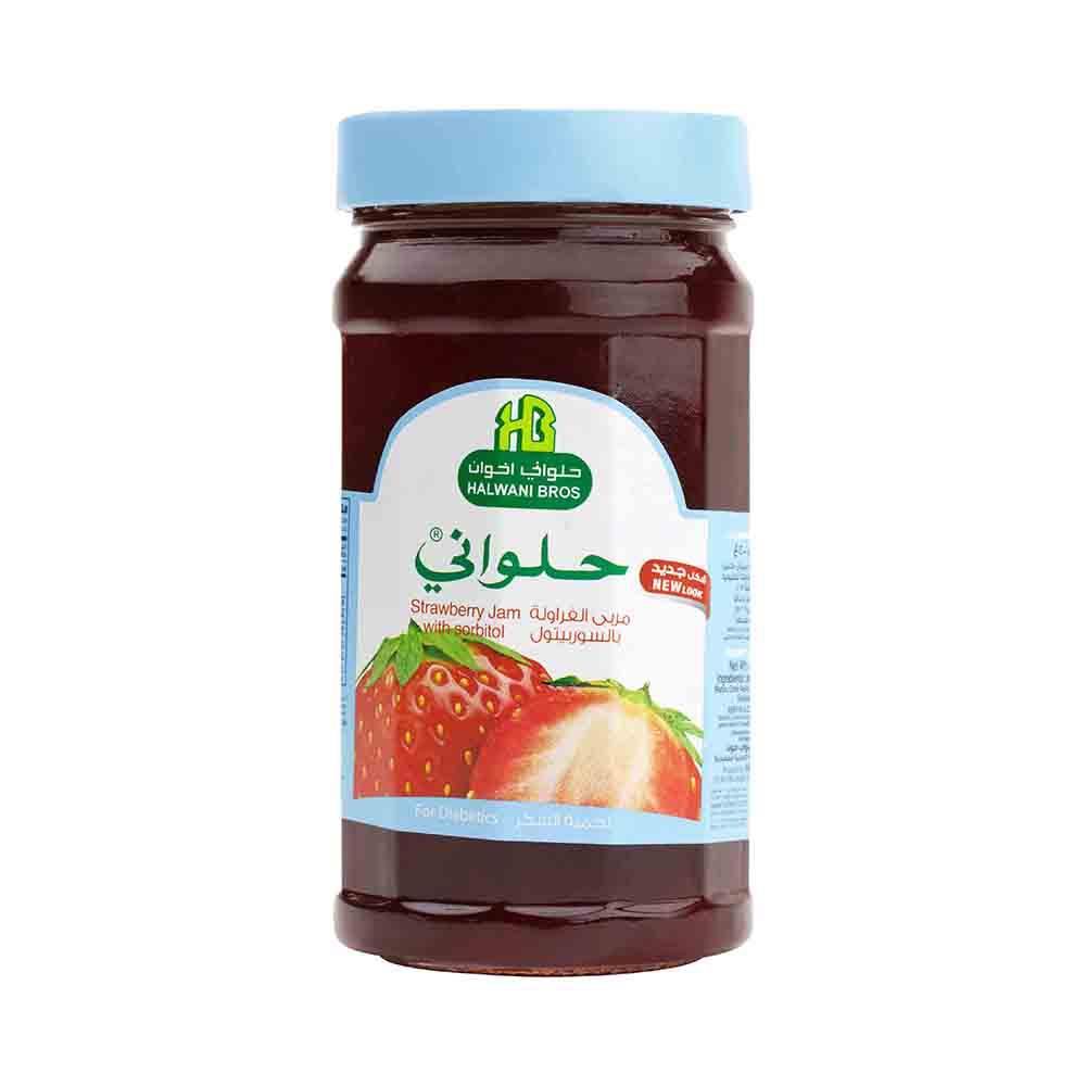 Strawberry Jam (No Sugar)